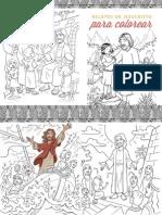 Libro Para Colorear Jesus