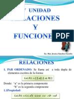 9. Relaciones y Funciones