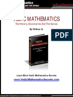 Vedic Mathematics Ancient Fast Mental Math Discoveries History and Sutras
