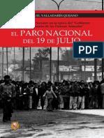 El Paro Nacional Del 19 de Julio de Manuel Valladares