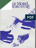 MOREL Jorge - Allegro in Re (Guitar - Chitarra)