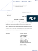 PA Advisors, LLC v. Google Inc. et al - Document No. 124