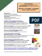 CP Période 2 2013-2014 Programmation Compréhension Dispositif PMC(1)