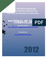Material de Apoyo Curricular Sexto