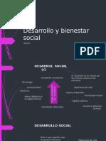 Desarrollo y Bienestar Social