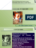 Procesos de Fundición Presentación