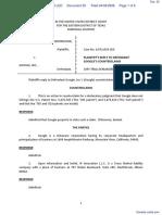 IP Innovation LLC et al v. Google, Inc. - Document No. 25