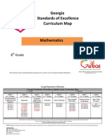 8th Grade Mathematics Curriculum Map