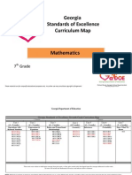 7th Grade Mathematics Curriculum Map