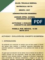 Actividad 1 ( IEU Maestría Ingeniería administrativa)