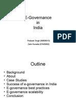 E-Governance presentation