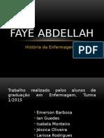 Faye Abdellah - Hist Enf