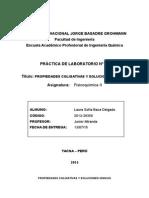 Práctica Nº 05 Prpiedades Coligativas y Soluciones Ionicas