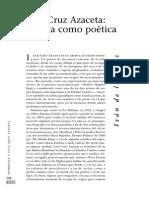 Ivan de La Nuez - Azaceta Poetica