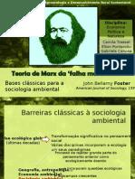 Marx e a Falha Metabólica