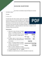 CÁLCULO DEL VALOR FUTURO Y PRESENTE.pdf