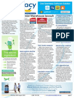 Pharmacy Daily for Mon 10 Aug 2015 - Chemist Warehouse lawsuit, Guild hails allergy strategy, Med exports decline, Weekly Comment and much more