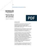 Articulo - Teoria Etica Levinas - Paula Jimenez