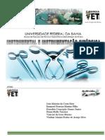 Instrumental e instrumentação cirúrgica