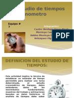 4.4 Estudio de Tiempos Concronometro Pptx (2)