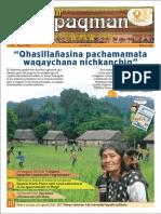 Revista rural bilingüe Conosur Ñawpaqman 156