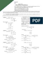 Ecuaciones Cuadráticas Guía N° 4