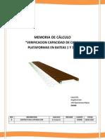 MC-Verificacion Capacidad de Carga Platafoma