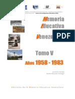 5-Tomo V años 1958-1983