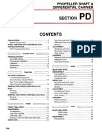 1998 Nissan Frontier Service Manual PD