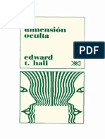 La Dimension Oculta Edward T Hall