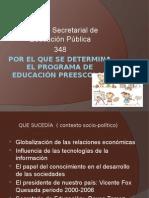ACUERDO 348 PEP  REFORMA A LA EDUCACION PREESCOLAR