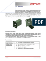 International Dc Power Infeed Module 2011