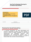 Social Forecasting - Relevance In