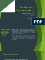 Accidentes y Complicaciones de La Exodoncia Clase