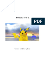 Pikachu MU Thread