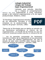 PsicologÃ-A Organizacional