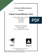 --Basic Pocket Billiards Clinic--