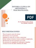 Clase, H,Cl. Traumatologiga