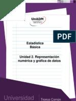 U2. Representacion Numerica y Grafica de Datos