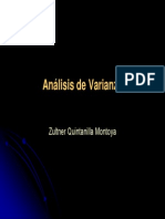 Métodos Cuantitativos - 07 Análisis de Varianza