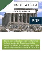 Historia de La Lírica