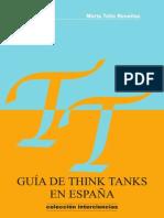 Guia de Think Tanks en España