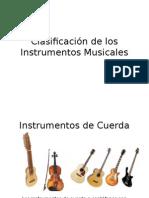 Clasificación de los Instrumentos Musicales 1º básico.pptx