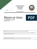 Master-at-Arms NAVEDTRA 14137B