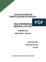 LAS ESTRATEGIAS DE SINDICALIZACIÓN EN URUGUAY UNA EXPERIENCIA DESDE EL PIT-CNT Urg