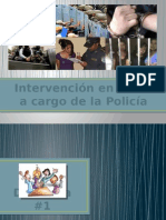Intervención en Crisis a Cargo de La Policía