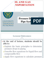 Chapter 5(b) Pressure Drop in Piping System