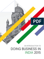 An Introduction to Doing Business in India 2015 - Preview