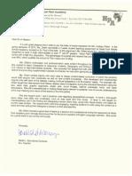 Letter of Recommendation from Sarah Schmidt de Carranza