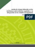 6. Cortés - La Prevención de Riesgos Laborales en Las Enseñanzas Universitarias Españolas y Su Integ...